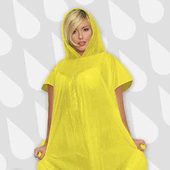 Corporate Giveaways Disposable Rain Poncho