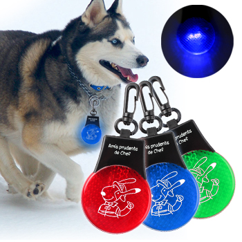 Flashing Pet Tag