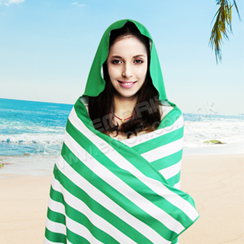 Instant Cooling Beach Towel Cloak