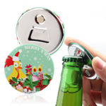Magnetic Badge Bottle Opener