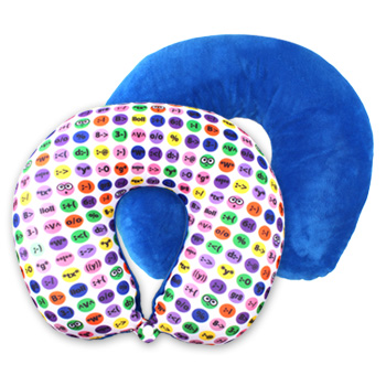 Soft Plush U Shape Neck Pillow