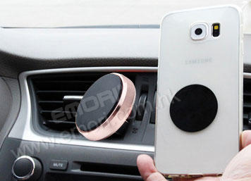 Magnetic Car Phone Mount (Outside With Metal Around)