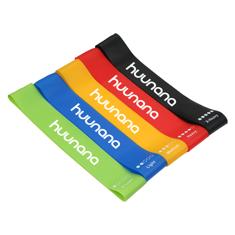 Silicone Resistance Band Set