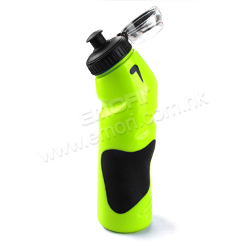 750ml PE Curve Sport Water Bottle With Grip & Dust Cover
