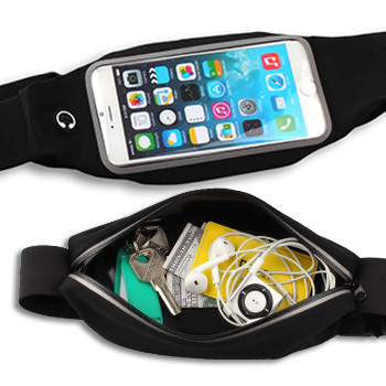 Sports Waist Bag With Clear Window
